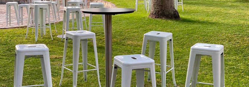 Alquiler de sillas y mesas en Torremolinos